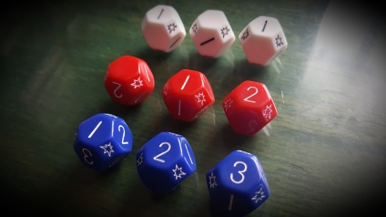 Exploding U-dice