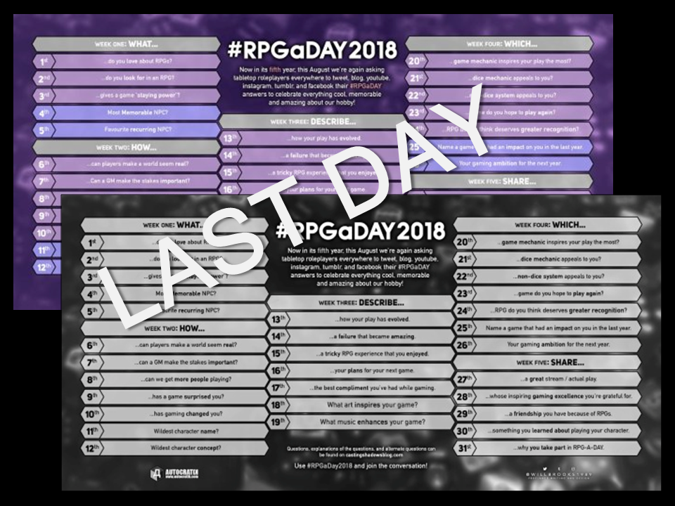 The dark dungeon vaults januari 2012 rpgaday 2018 day 31 participation last day share why you participate in rpgaday the answer is easy today it helps me feel connected fandeluxe Image collections